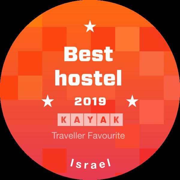 best hostel 2019 kayak badge