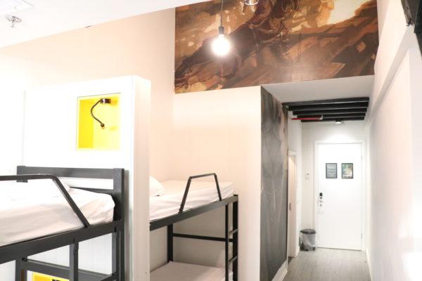 four bed dorm design